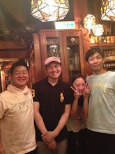Photo: 新宿・浪曼房にて!当日のゲスト「順風男女」の 足立さんが見学に来てくれました!5/20