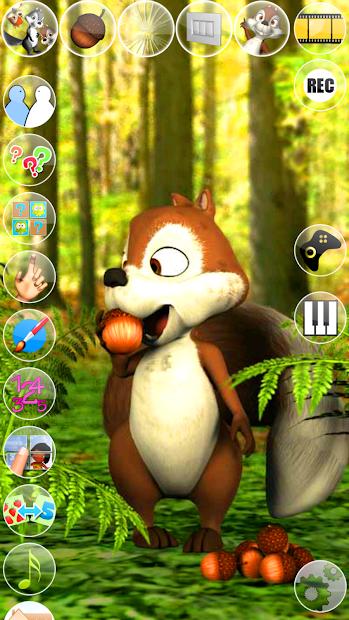 Talking James Squirrel screenshot 3