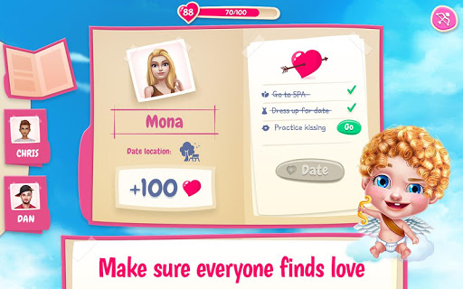 First Love Kiss - Cupidu2019s Romance Mission  screenshots 6