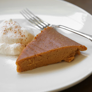Crustless Crockpot Pumpkin Pie