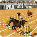 Horse Riding Jumping Stunts icon