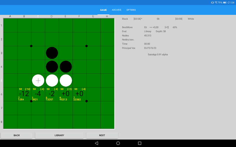 SaioApp - The strongest Othello engine Screenshot 6