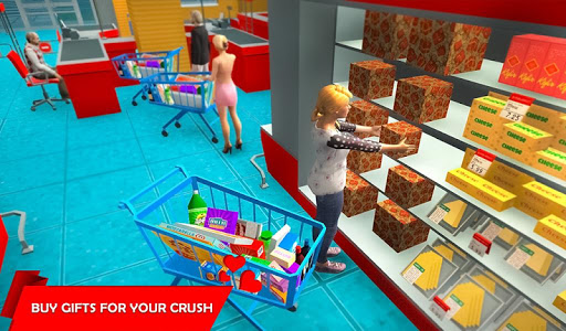 Virtual Girlfriend Crush Love Life Simulator  captures d'écran 4