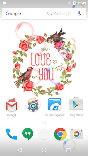 Vintage Flower Live Wallpaper
