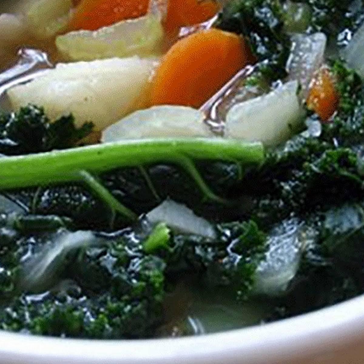 Super  spirit Kale Soup