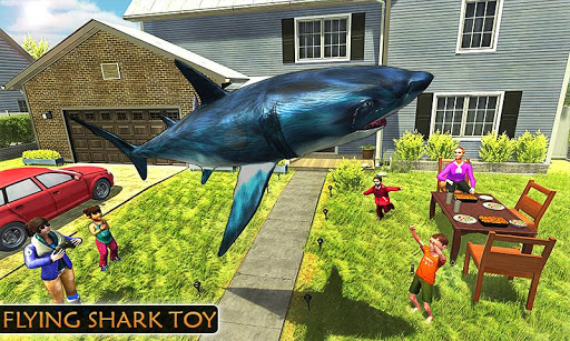 Flying Shark Simulator : RC Shark Games 1.1 screenshots 2