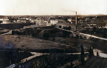 Photo: Civita Castellana, panoramma della città guardando dal Cimitero. Prima metà del '900 [Per gentile concessione di Franca Pelinga].