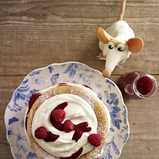 Raspberry Ricotta Sponge Cake.