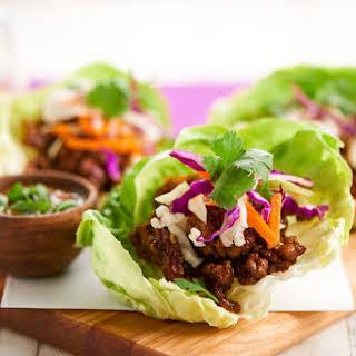 Thai Lettuce Wraps.