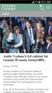 Ottawa Citizen- screenshot thumbnail