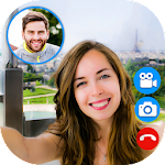 Fake Video Call : Girlfriend FakeTime prank Icon