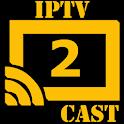 iptv2cast - IPTV to Chromecast icon