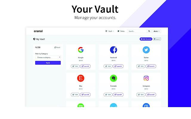 eranol - Free Password Manager