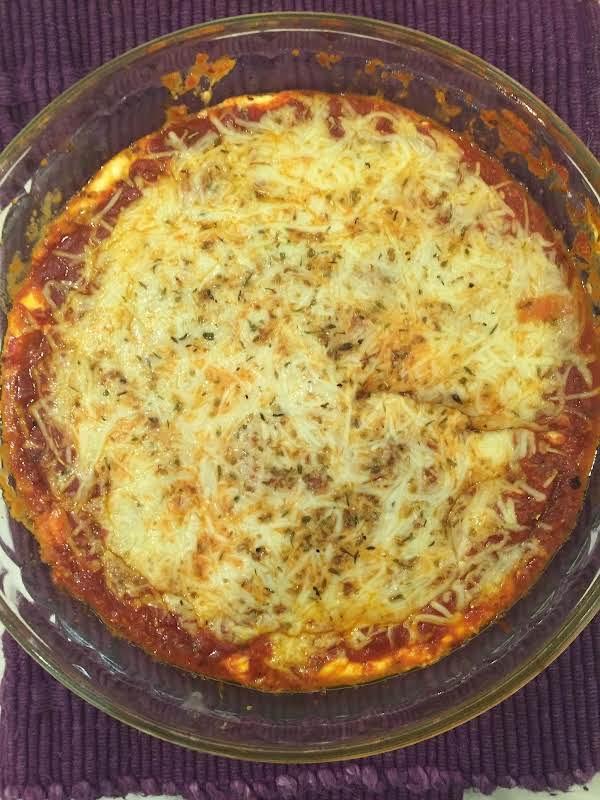 Cheesy Spaghetti Dip