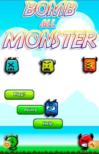 Bomb All Monster Game