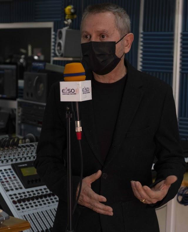 Luis Serrano, director de la Escuela de Imagen y Sonido de Almería (EISO).