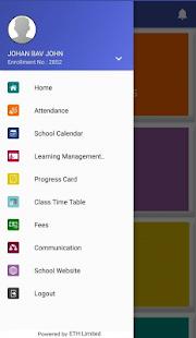 Indian School Bahrain Parent App - náhled