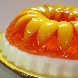 Peaches & Cream Jello.