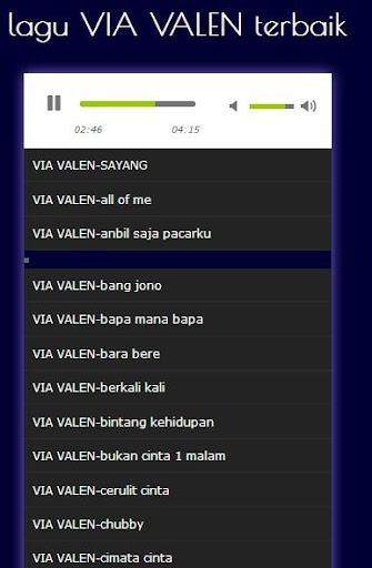 lagu via valen lengkap 1.0 screenshots 1