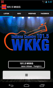 101.5 WKKG- screenshot thumbnail