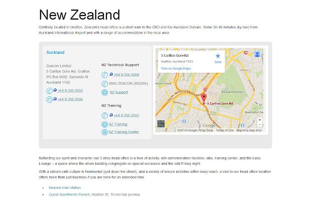 Zeacom Web Dialer