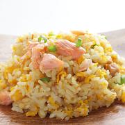 Fish(Salmon) Fried Rice