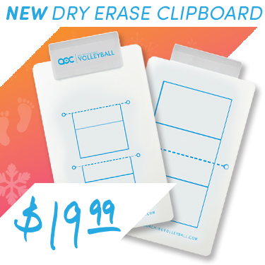 Dry erase coaches clipboard