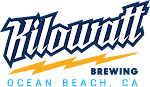 Logo for Kilowatt Brewing - Ocean Beach
