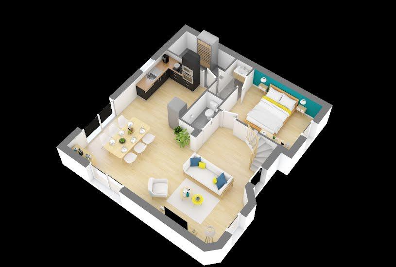 Vente Terrain + Maison - Terrain : 724m² - Maison : 94m² à Paucourt (45200)