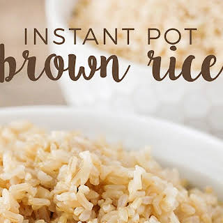 Instant Brown Rice Recipes.