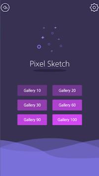 Pixel Sketch - Color by Number