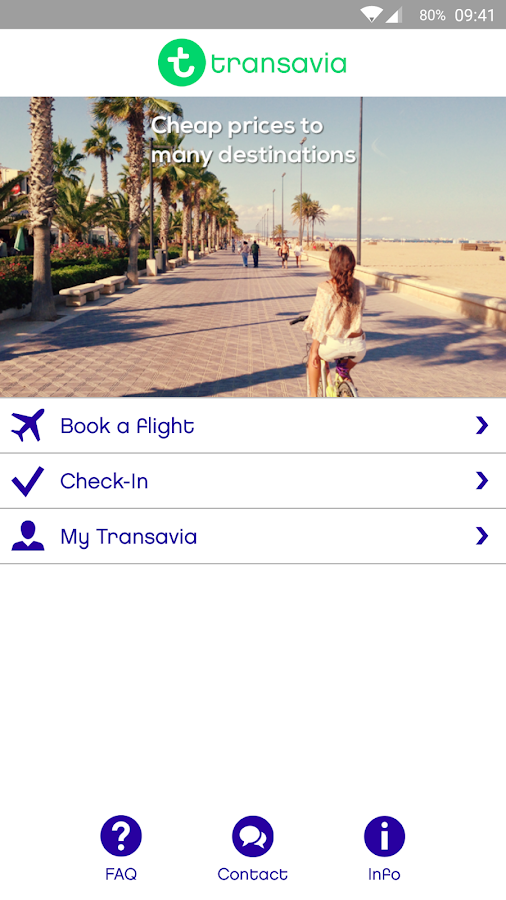 Transavia - screenshot