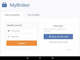 Screenshot of MyBroker
