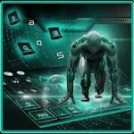 ai robot keyboard Icon