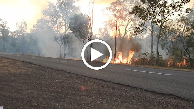 Video: Day 2 - Fire near Ubirr