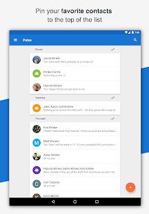 Pulse SMS (Phone/Tablet/Web) Screenshot