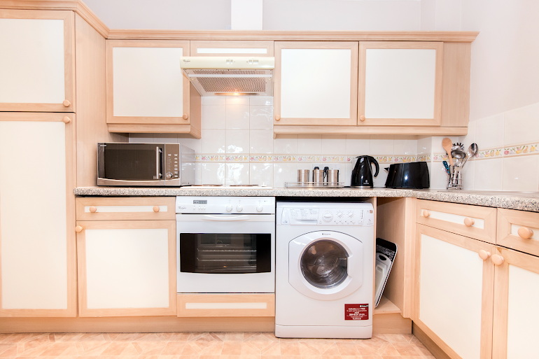 Fully equipped kitchen at Atlantic Apartment