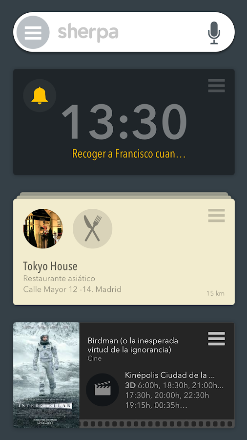 SHERPA BETA Personal Assistant- screenshot