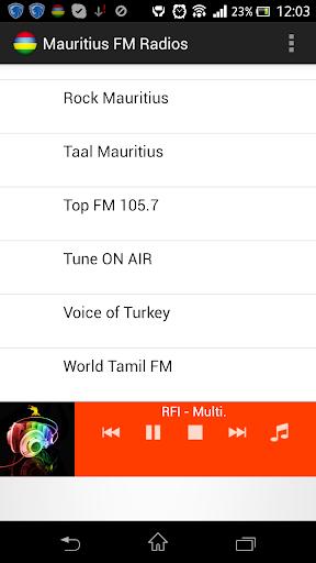 Mauritius FM Radios