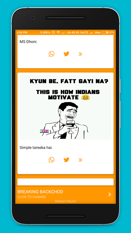 Hindi Trolls - Funny Hindi  Memes- screenshot