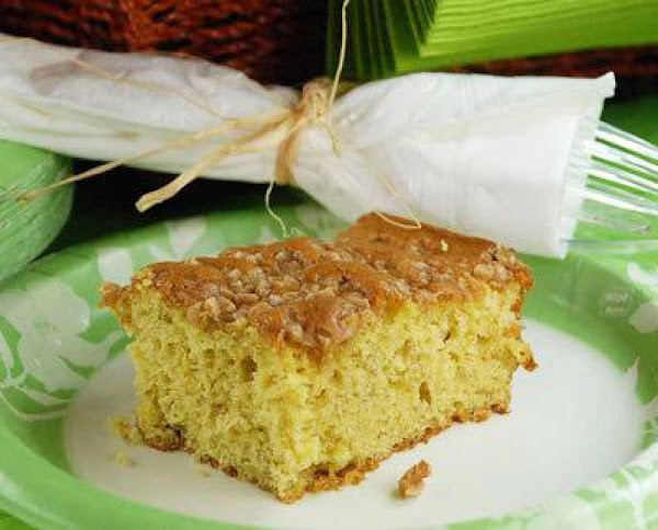 Banana Toffee Picnic Cake Recipe