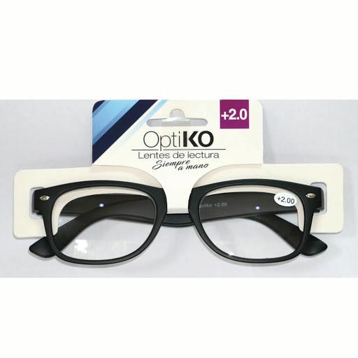 lentes de lectura optiko negro +2.00