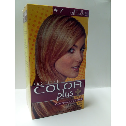 Tinte Color Plus Kit 7.0 Rubio Mediano