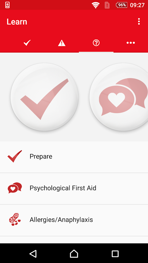 First Aid Red Crescent- screenshot