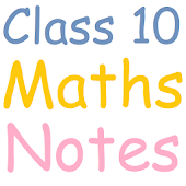 Class 10 Maths Notes