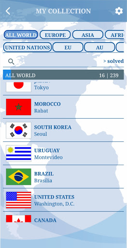 The Flags of the World u2013 Nations Geo Flags Quiz screenshots 8