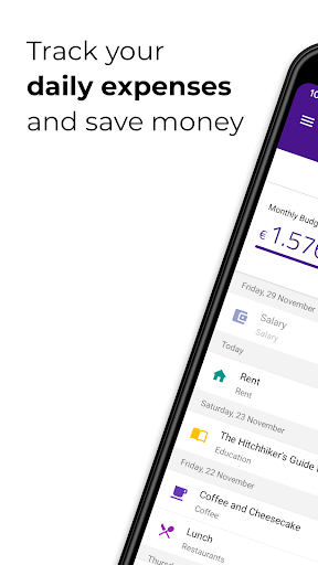 DailySpend - Track your daily expenses and budget screenshot 1