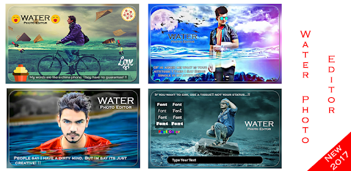 Water Photo Frame app (apk) free download for Android/PC/Windows screenshot