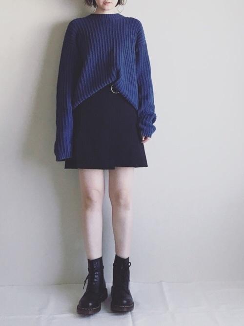 ミニ す カート コーデ 50 代