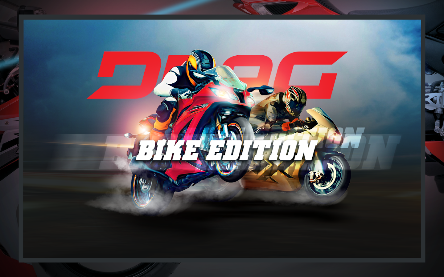 Drag Racing: Bike Edition: captura de pantalla